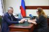 Андрей Травников выяснял проблемы жителей региона на личном приеме