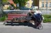 В Кемеровской области бомж-психопат избил ребенка и сжег знакомого