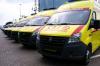 Подмосковные больницы получили 85 новых карет скорой помощи
