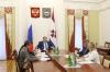 Владимир Волков обсудил план реализации майского указа президента с кабмином Мордовии