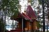 Хирург из Петрозаводска построил часовню. Своими руками и за свой счет