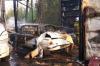 Пять авто разом дотла сгорели в Уфе