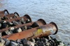 Башкирские рыбаки обнаружили в Белой черные пятна