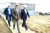 Александр Усс побывал на стройплощадке нового машиностроительного завода под Красноярском