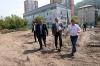 Мэр Красноярска проинспектировал благоустройство Свердловского района