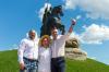 «История, которую у нас пытаются украсть». В Киеве открыли памятник Илье Муромцу