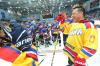 Губернатор Московской области поучаствовал в товарищеском хоккейном матче в Воскресенском
