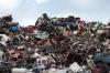 Жители Бердска задыхаются от гари из-за пожара на мусорном полигоне