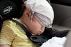 В Агинском младенец едва не погиб в запертом автомобиле