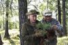 Во время отдыха в Туве Путин и Шойгу спасли погибающую сосну