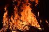 «Было слышно несколько громких хлопков»: на территории Ростсельмаша горит ангар