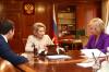 Губернатор Ямала встретился с Валентиной Матвиенко