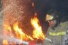 В Кузбассе детская шалость стала причиной пожара на крыше