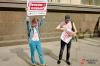 Казанского подростка оштрафовали за «наглядную агитацию» на митинге