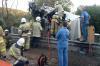 «Газель» упала с моста: на трассе Симферополь – Феодосия произошло столкновение двух грузовиков