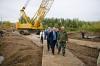 Берг: работы на мосту у села Нижнеозерное нужно ускорить