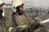 В Ульяновске горел керамзитовый завод