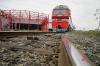 В Сеть попали кадры обрушения моста в Амурской области