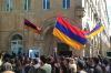 Демонстранты в Армении вышли на митинг к зданию парламента
