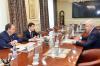 Дмитрий Артюхов встретился с вице-президентом «ЛУКойла» Сергеем Кочкуровым