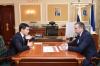 Губернатор Артюхов встретился с новоизбранным главой Губкинского Гараниным