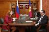 Вениамин Кондратьев встретился с новым главой Роспотребнадзора Кубани