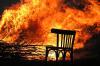 Во время пожара в садовом домике в Томске погибла женщина