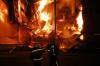 Крупный пожар произошел на угольном разрезе в Бурятии