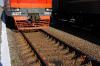 В Башкирии локомотив столкнулся с грузовиком на переезде
