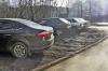 В Красноярском крае будут штрафовать за парковку в зеленых зонах