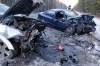 В жутком ДТП на зауральской трассе один человек погиб, шестеро пострадали
