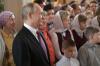 Путин тайно приехал в Псково-Печерский монастырь