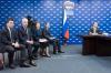Глава Подмосковья принял участие в приеме граждан в общественной приемной «Единой России»