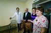 Губернатор Оренбуржья встретился с пациентками областного перинатального центра
