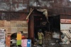 В Подмосковье десятки пожарных тушат строительный рынок