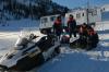 «Видимости ноль, метет жестко». Четверо красноярских снегоходчиков пропали в Хакасии