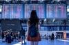 Американка одна заняла 144 места в самолете