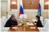 Губернатор Комарова обсудила с главой Минтранса строительство моста через Обь