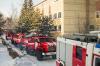 В омской больнице случился пожар. Спасатели эвакуировали более трехсот человек