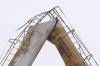 В Оренбургской области рухнула водонапорная башня, снабжавшая целый поселок