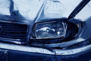 На трассе в Дагестане столкнулись четыре машины