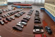 «Красный дождь». В Норильске после дождя машины покрылись бурым налетом