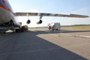 Авиация МЧС борется с лесными пожарами в Мурманской области