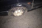 Уральские гаишники стреляли по машине с пьяным лихачом