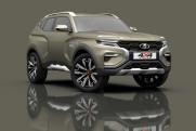 «АвтоВАЗ» представил концепт нового внедорожника Lada 4х4 Vision