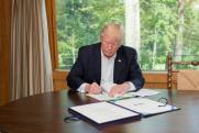 Трамп назвал условия выхода США из ВТО