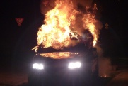 Неизвестные сожгли автомобиль нижегородского депутата