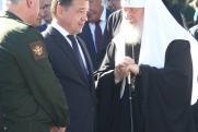 Губернатор Московской области заложил камень в основание храма вооруженных сил России
