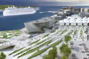 Многофункциональный «лайнер» появится в районе морвокзала во Владивостоке