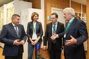 Волгоградский губернатор торжественно открыл работающий почти два года завод